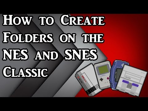 How to create folders on your NES and SNES Classic using
