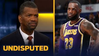Kareem is wrong for saying LeBron has nothing left to prove — Rob Parker | NBA | UNDISPUTED