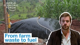 This innovative new machine turns waste into energy for farms