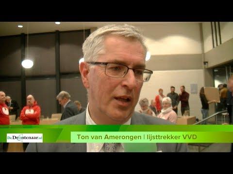 "VIDEO | Verkiezingswinnaar Ton van Amerongen (VVD): ""Er is heel wat gebeurd"""