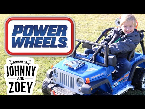 POWER WHEELS New Jeep Wranger Hot Wheels Jeep Off Road Power Wheels Jeep