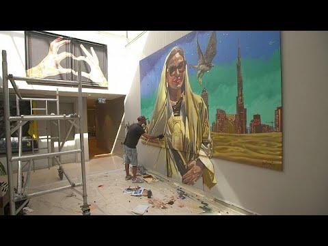 Ευρωπαίοι καλλιτέχνες εκθέτουν στο Ντουμπάι