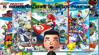 preview picture of video '15 Recomendaciones de juegos para Wii U'