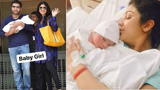 Shilpa Shetty & Raj Kundra BLESSED With A BABY GIRL Samisha FIRST VISUALS | SURROGACY