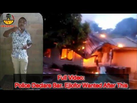 Nigeria Police Shot My Mother & Burnt Down My Village Bar Ejiofor