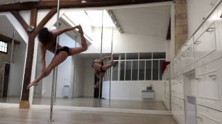 Doris Arnold - Pole dance advanced choreography - octobre 2014