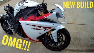 How to rebuild a wrecked Yamaha  R1 part1