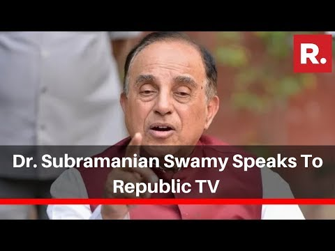 Dr. Subramanian Swamy Speaks To Republic TV On Maharashtra Government Formation