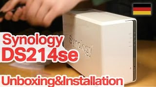 Synology DS214se Unboxing+Installation