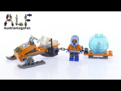 Vidéo LEGO City 60032 : La motoneige