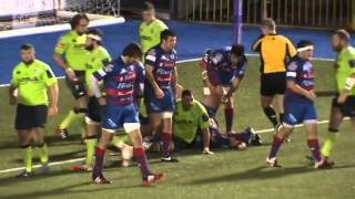 preview picture of video 'Cardiff Blues 104 - 12 Rovigo - 2014-15 European Rugby Challenge Cup - Round 5 - Highlights'
