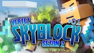 Minecraft Skyblock [S2] #01 | Zaczynamy od nowa! | Vertez