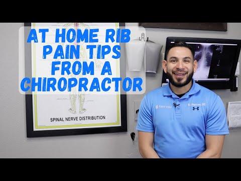 At Home Rib Pain Tips