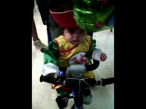 Disfraz Gohan bebe ( colombia). Mi pequeño Joel.