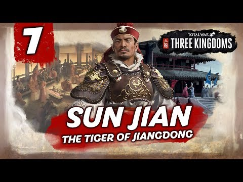 INVASION FROM THE NORTH! Total War: Three Kingdoms - Sun Jian - Romance Campaign #7