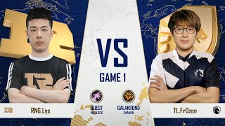 Royal Never Give Up vs Team Liquid - Group A Decider - Gold Club World Cup