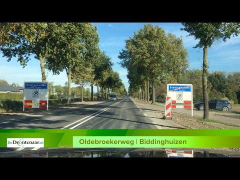 VIDEO | Oldebroekerweg bij Biddinghuizen een dag eerder dan gepland open voor verkeer