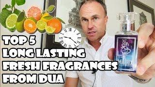 Top 5 Long Lasting Fresh Fragrances From Dua Fragrances - Fragrance Review
