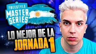 DTOKE ME DIÓ LA RAZÓN... | REACCIÓN a las MEJORES RIMAS de la JORNADA 1 | FMS ARGENTINA 2019