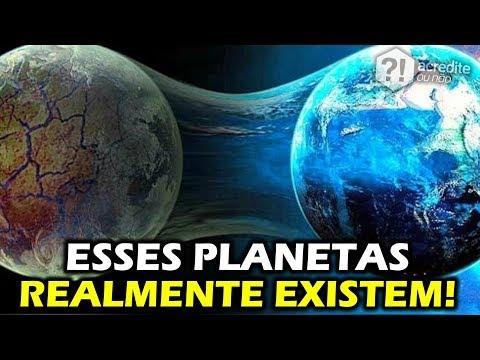 IMPOSSIVEL DE ACREDITAR! OS PLANETAS MAIS ESTRANHOS DO UNIVERSO