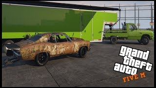 GTA 5 ROLEPLAY - TESTING AND TUNING THE JUNKSTER DRAGSTER - EP. 606 - CIV