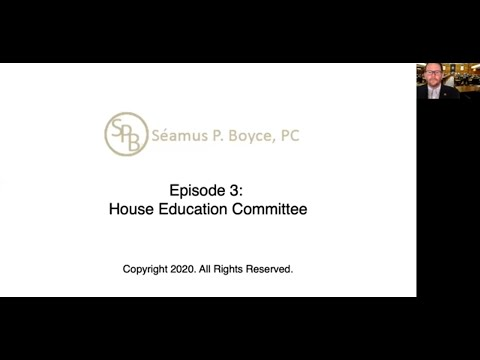 Episode 3 – House Education Committee
