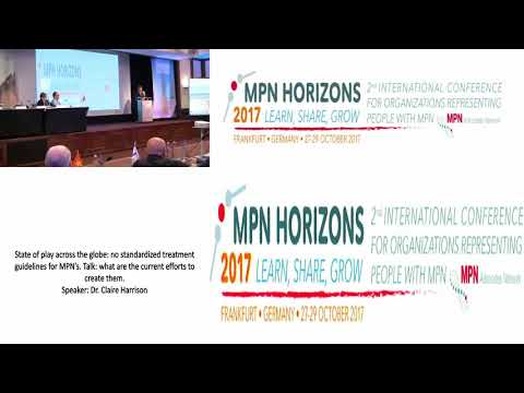 State of play across the globe no standardized treatment guidelines for MPN's - MPN Horizons 2017