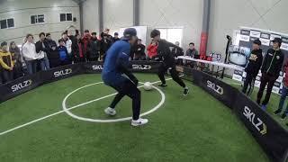 คนไทยล้มเกาหลีในการแข่งขันสตรีทฟุตบอลที่ประเทศเกาหลี รายการ SKLZ Classic Korea 2018 By เกมส์(y)Ps