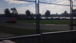 F1 2017 Australian GP start Clark Stand