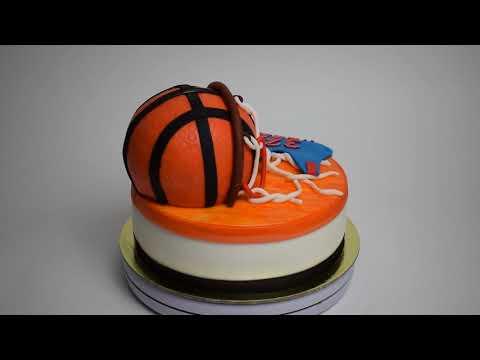 Идея торта баскетболисту