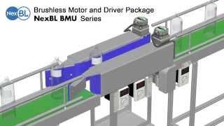 Orientalmotor Yeni BMU Serisi Senkron Konveyör hız uygulaması