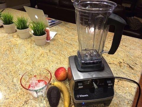 Video Avocado Apple Smoothie - Easy Vitamix Recipe