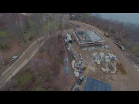 4 27 2017 – Aerial Video Peirce Island Wastewater Treatment Facility