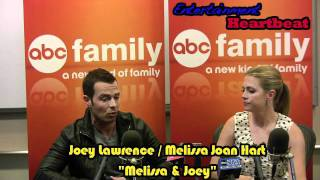 "Melissa Joan Hart And Joey Lawrence -- Back For More ""Melissa & Joey"" Verbal Wrestling"
