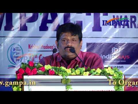 Why IPS | Krishna Pradeep | TELUGU IMPACT Warangal 2017