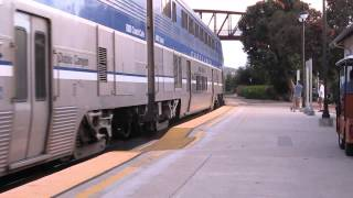 preview picture of video 'Amtrak Pacific Surfliner 777 arrives in San Luis Obispo'