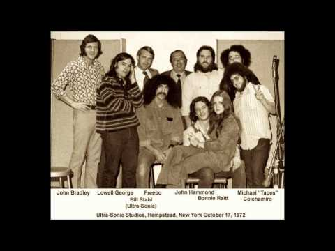 Bonnie Raitt Lowell George John Hammond and Freebo 10/17/72 Ultrasonic Studios (audio only)