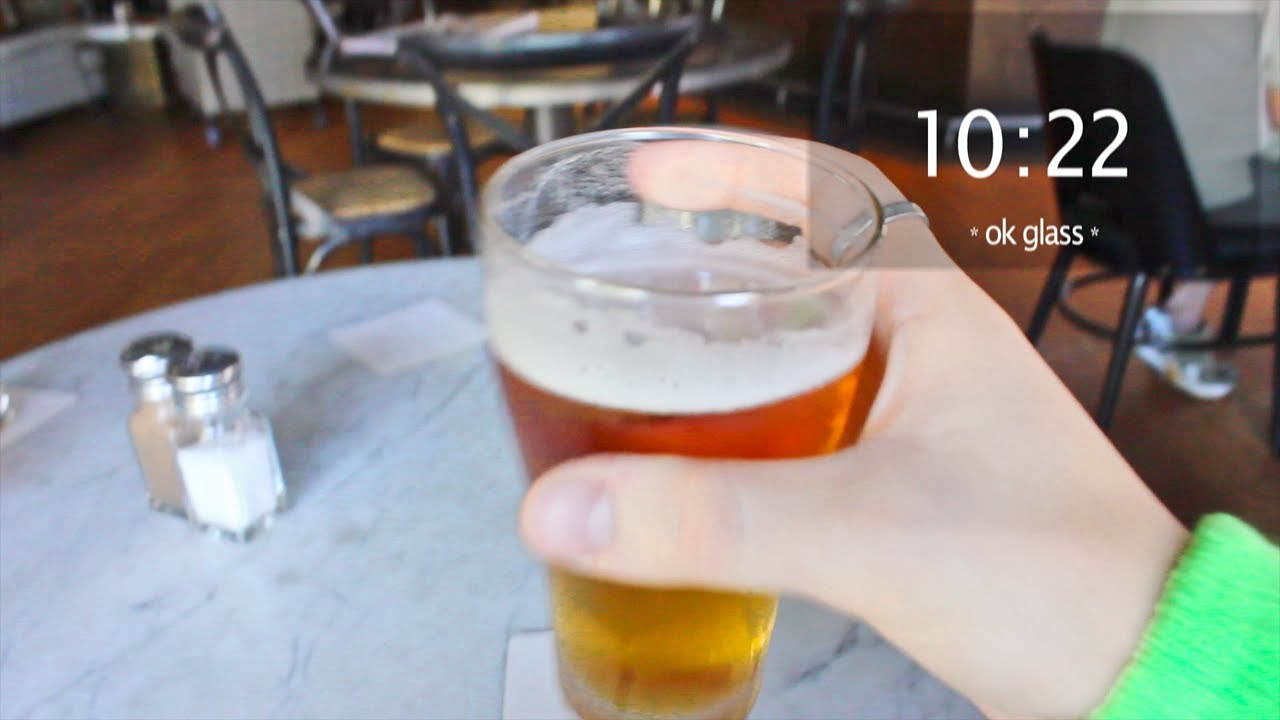 How Drunk People Will Use Google Glass (Hint: Badly)