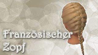 Für Anfänger: Französischer Zopf - Basic    haareflechten