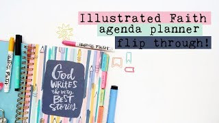 Illustrated Faith 2018-2019 Agenda Planner Flip Through