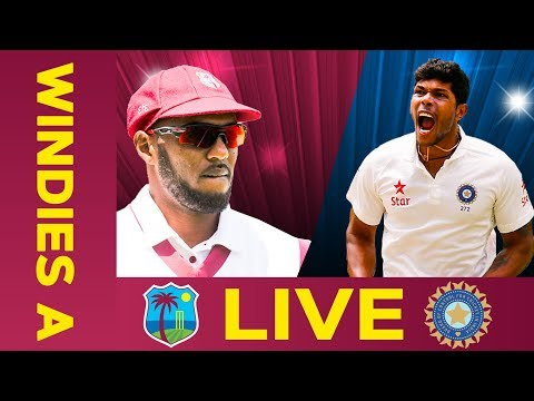 🔴LIVE West Indies A vs India A | Day 4 | Third Test