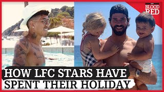 How Liverpools Champions Have Spent Their Holidays | Firmino, Alisson, Salah