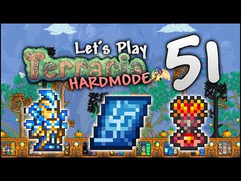 Let's Play Terraria 1.3.5 | THE GRAND DESIGN & STARDUST ARMOUR! [Episode 51]