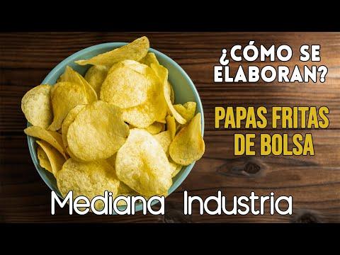 Producción de Papas Fritas (Industria pequeña)