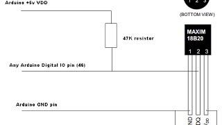 DS18B20 temperatuur sensor