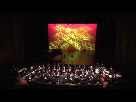 """Lycoming College Wind Ensemble Performs John Williams' """"Raiders March"""""""