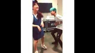 bambam Got7 jamie15& tv show backstage dance funny  JYPNATION