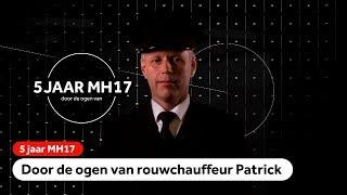 MH17: 'Overal stonden mensen', zegt rouwstoetchauffeur Patrick