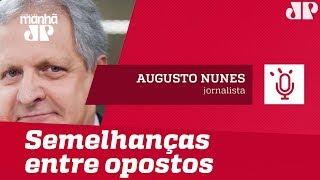 O teste das quatro perguntas mostra as semelhanças entre opostos | Augusto Nunes
