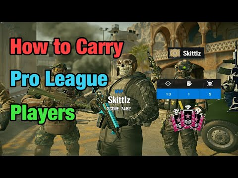 How To Carry Pro League Players - Rainbow Six Siege: Operation Shifting Tides